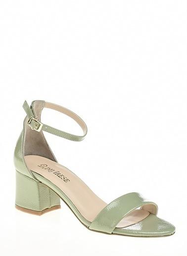 D by Divarese Topuklu Ayakkabı Yeşil